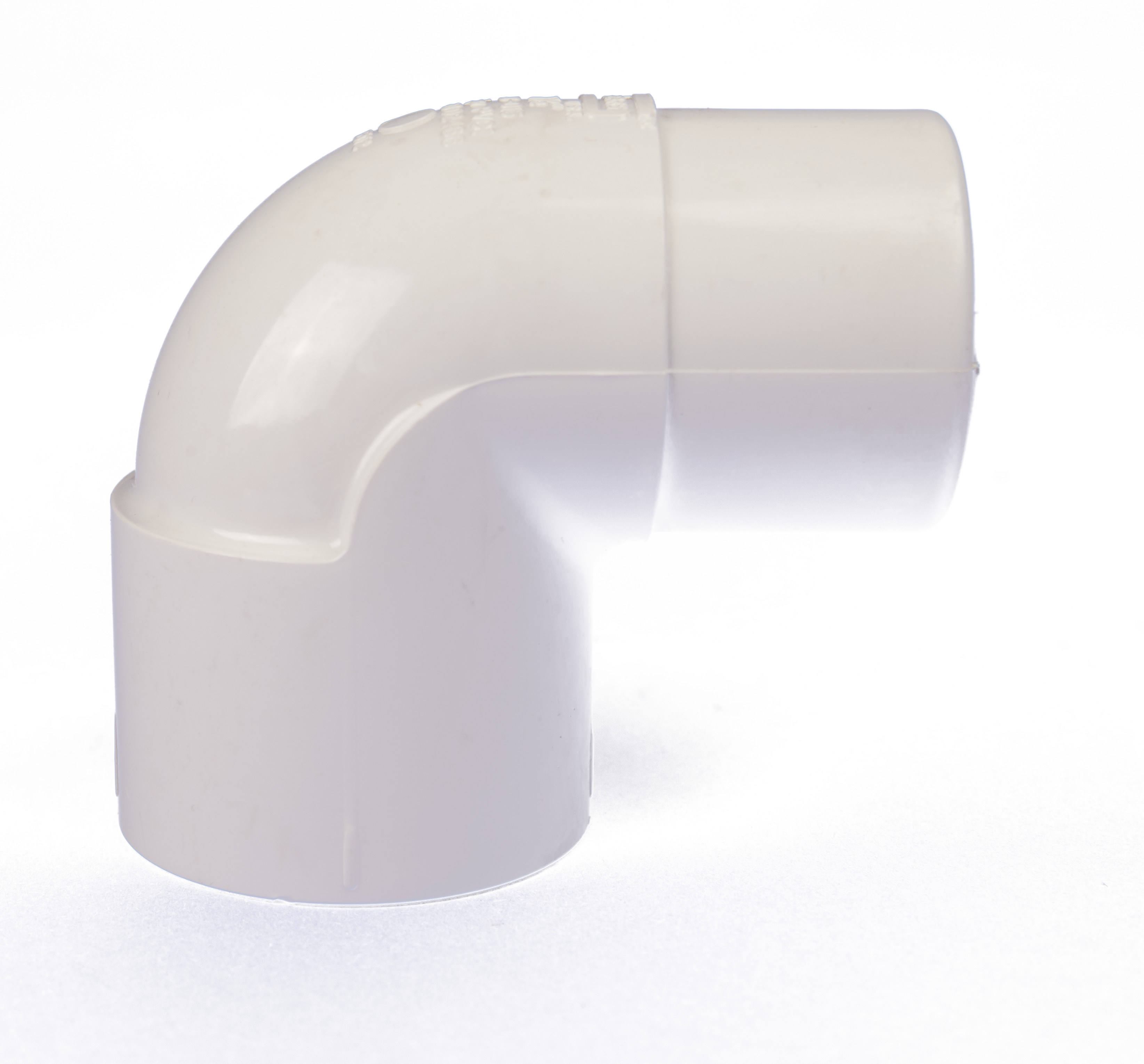 Aqua-Mount® Muffler Fitting White Elbow