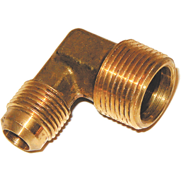 Brass 3/4 in. Flared 90 Degree Male Elbow