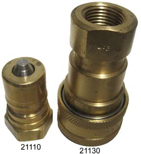 Coupler Male Series P 3/8