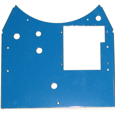3D™ Cylinder Front Panel - Painted