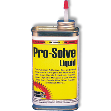 Pro's Choice Pro-Solve Liquid Solvent-Based Carpet Spotter (7 oz. tin with applicator)