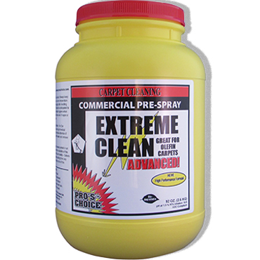 Pro's Choice Extreme Clean Carpet Heavy Duty Prespray - 6.5 lb jar