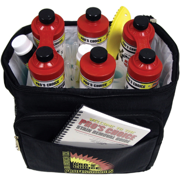 Spotting Kit for Professional Carpet Cleaners by Pro's Choice from Bane-Clene®