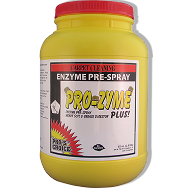 Pro-Zyme+ 6.5 lb. Jar Enzyme Carpet Prespray by Pro's Choice