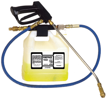 Injection Sprayer for Carpet Cleaning Traffic Lane Spotters / Presprays