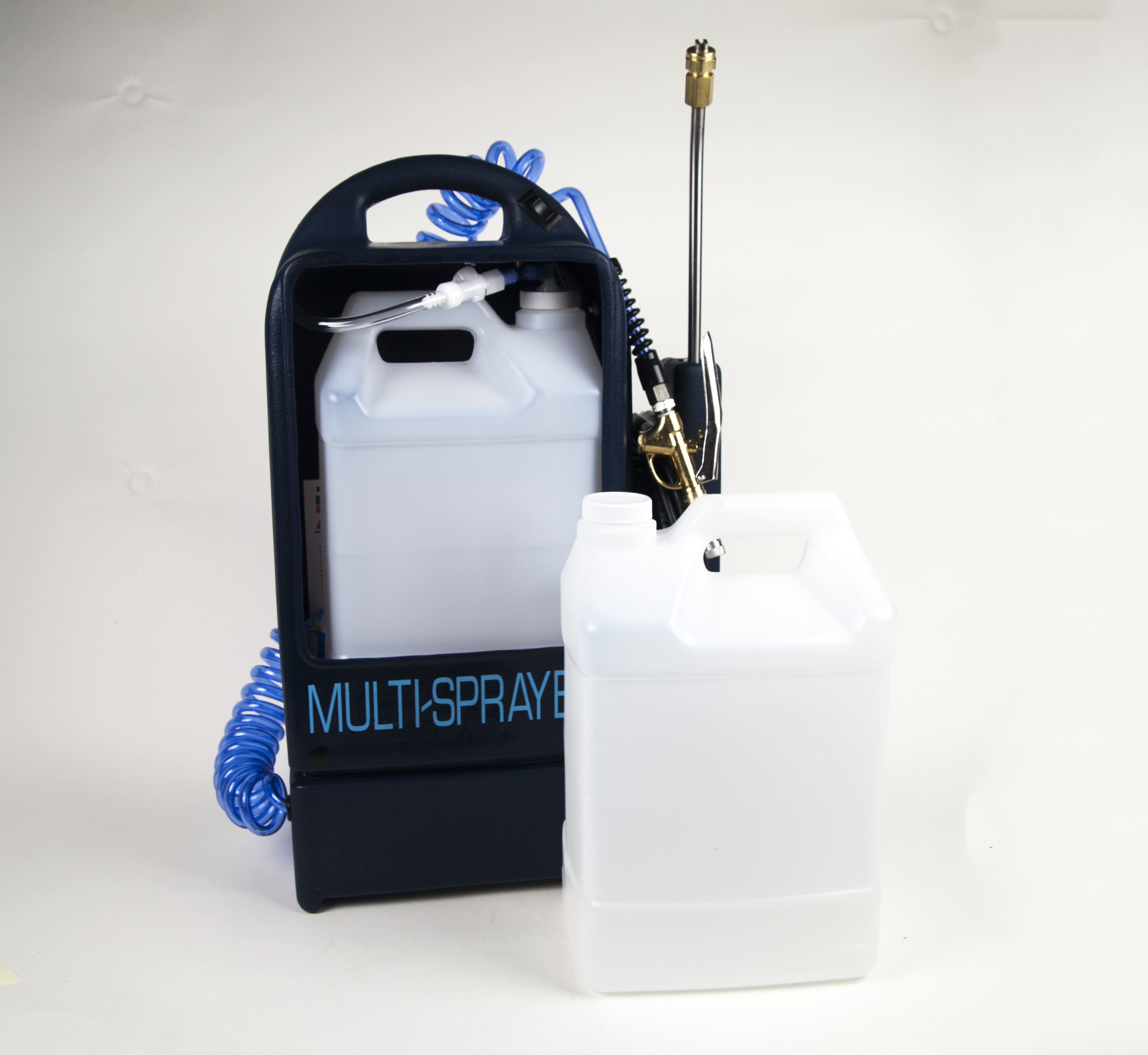 Multi-Sprayer® Deluxe Electric Sprayer for applying traffic lane spotters, carpet protectors and deodorizers