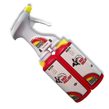 Red Relief® Dual Chamber Sprayer--ONLY