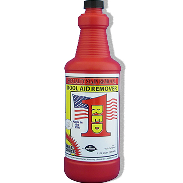 Red 1® Stain Remover for Food Dye Stains - by Pro's Choice