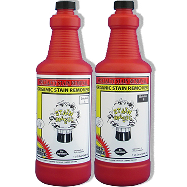 Pro's Choice Stain Magic System (Kit of 2 quarts) for Organic Stains on Carpet