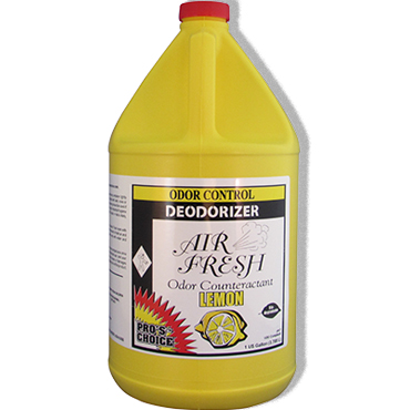 Air Fresh Odor Counteractant Lemon Fragrance 1 Gallon by Pro's Choice from Bane-Clene®