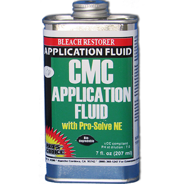 Pro's Choice Pro-Solve NE (CMC Application Fluid) for Preparing Bleach Spot on Carpet for Color Repair