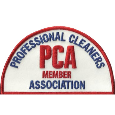 PCA Uniform Shoulder Patch for Members of the Professional Cleaners' Association™