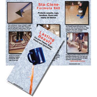 Sta-Clene® Lasting Beauty Brochures (25/pkg)