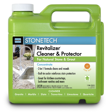 StoneTech™ Revitalizer™ Tile and Countertop Cleaner and Protector - 1 Gallon Concentrate