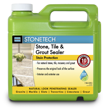 Stone Tech™ Stone Sealer for Mexican Tile, Limestone, Marble, Granite and Other Stone Surfaces