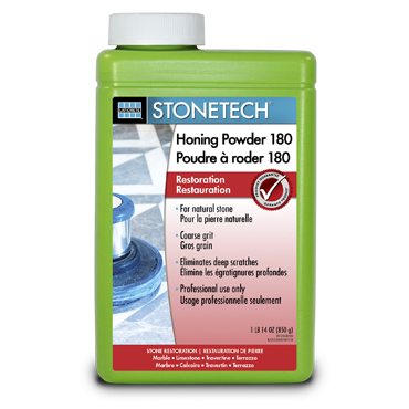 StoneTech™ Honing Powder for Marble and Limestone 1.9 lb. jar, 180 Grit