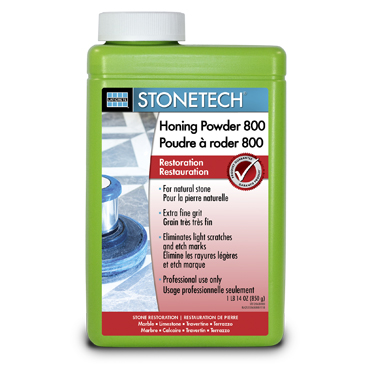 StoneTech™ Honing Powder for Marble and Limestone 1.9 lb. jar, 800 Grit