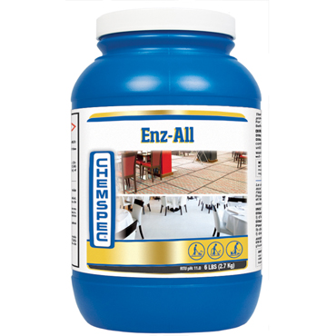 Chemspec® Enz-All™  Enzymatic Prespray, Heavy Soil and Grease Digester - 6lb Jar