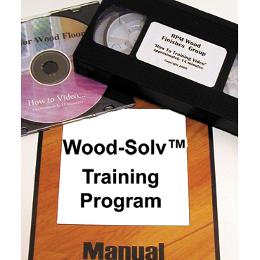 Wood-Solv™ Wood Floor Repairing, Refinishing and Restoring Training CD