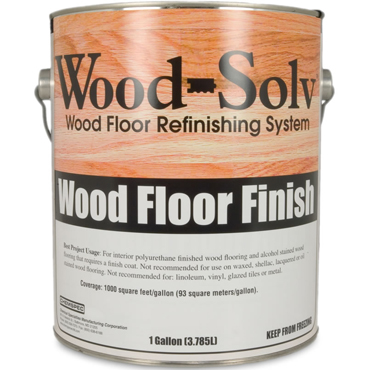 Wood-Solv™ SEMI-GLOSS Finish with Catalyst, 1 gl