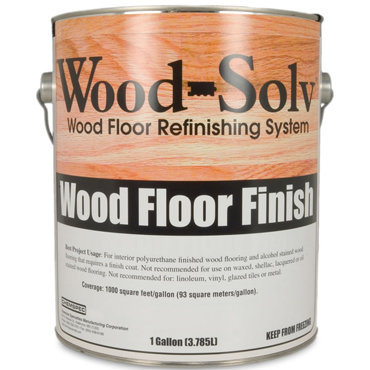Wood-Solv™ SATIN Finish with Catalyst, 1 Gallon