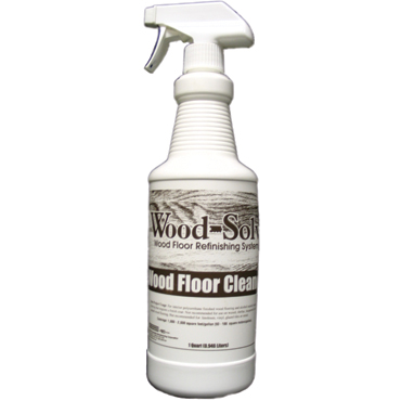 Wood-Solv™ Wood Floor Cleaner with Sprayer - 1 Quart
