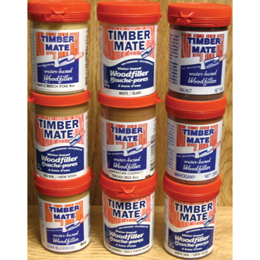 Timbermate® Wood Filler & Wood Repair Putty/Filler for Repair and Refinishing Wood Floors -Mahogany 8 oz.