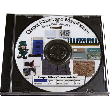 Chemistry of Carpet Fiber & Manufacture - Training Educational DVD