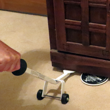Lift Buddy™ to Lift Furniture and Upholstery - Save Your Back!