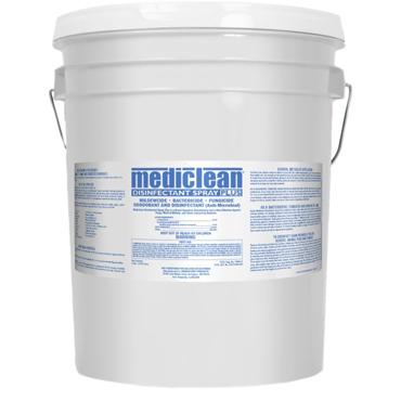MedicClean (Microban®) Disinfectant Spray -  5 Gallon Pail