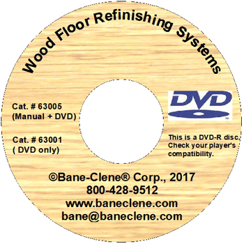Wood Care Floor Repairing, Refinishing and Restoring Training DVD (Only)