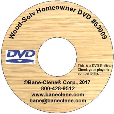 Wood-Solv™  Homeowner Sales Presentation DVD by Bane-Clene®