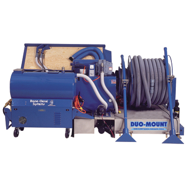 Bane-Clene® Duo-Mount® truckmounted carpet cleaning machine
