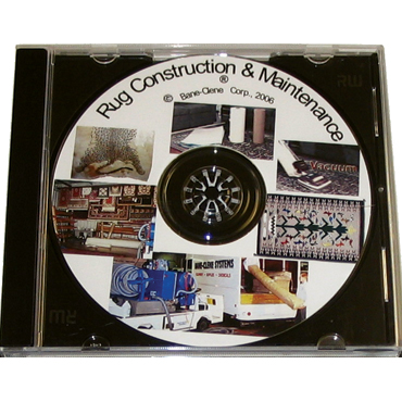 Oriental and Area Rug Construction and Maintenance Training DVD