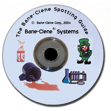 Bane-Clene Spotting and Stain Removal Guide on CD