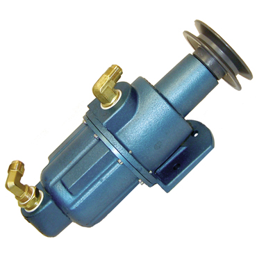 Water Pump with Fittings & Pulley Assembly