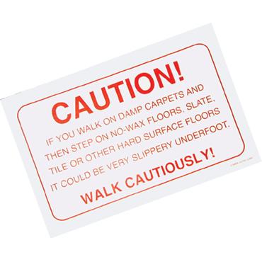 Wet Floors Warning Caution Pads 11