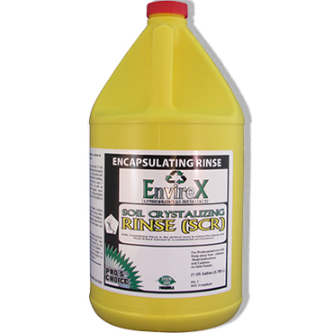 Pro's Choice SCR Soil Crystallization Rinse Encapsulation Extraction Carpet Cleaner - 1 Gallon