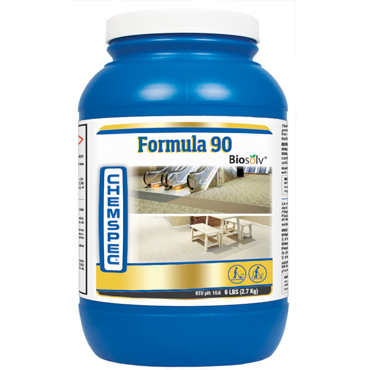 Chemspec Formula 90 Powder Carpet Cleaning Detergent - 6 pound jar