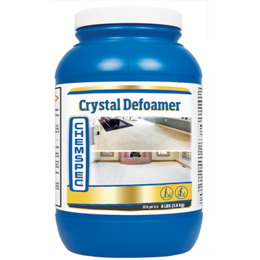 Chemspec® Crystal Defoamer for Carpet Cleaners - 8 lb jar