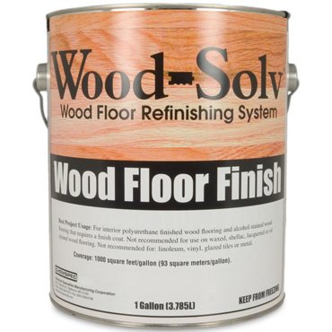 Wood-Solv™ GLOSS Finish with Catalyst, 1 Gallon