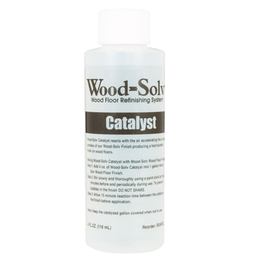 Wood-Solv™ Finish - Catalyst, 4 oz.
