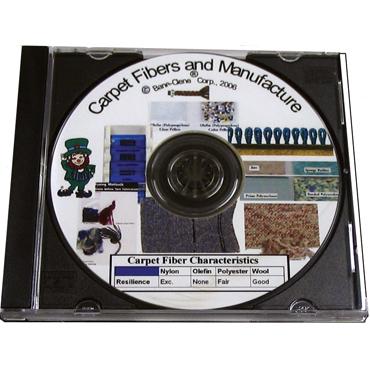 Chemistry of Carpet Fiber & Manufacture - Training Educational DVD